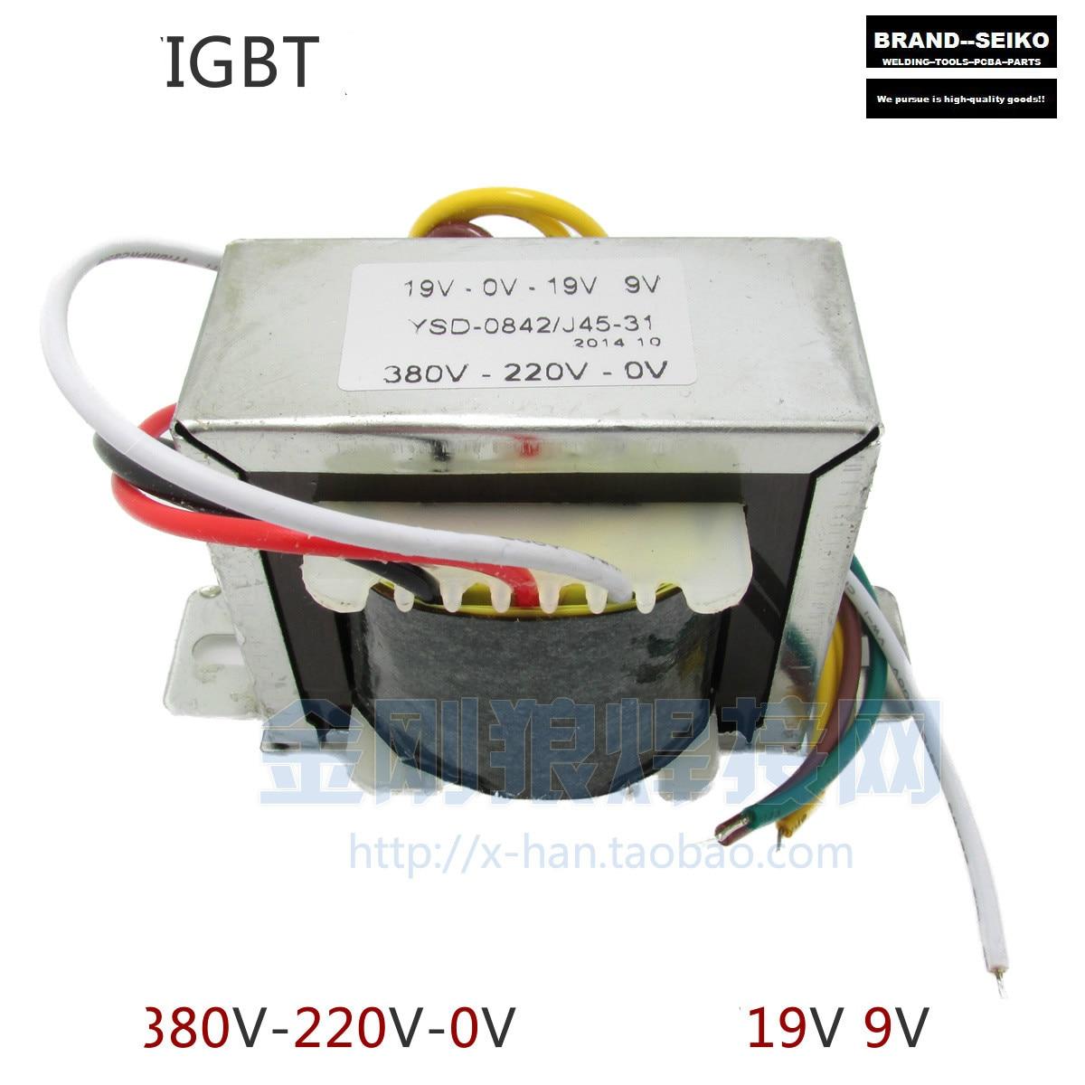 Single Igbt Double 19v Inverter Transformer 19v-0-19v 9v Input 0-220v-380v 0 19