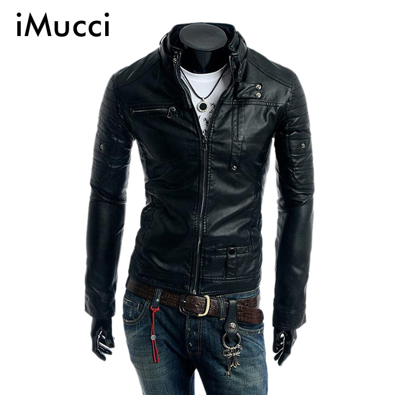 Popular Leather Winter Jackets for Men-Buy Cheap Leather Winter ...