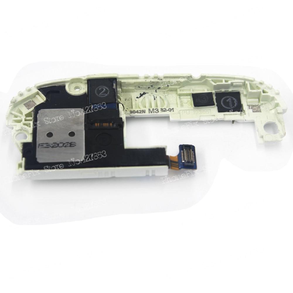 100% Original White For Samsung S3 III I9300 Loud Speaker Ringer And Audio Jack Flex Cable