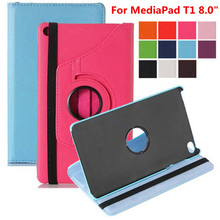 Cover Tablet-Case Huawei Mediapad S8-701W for T1 T1-821w/T1-821/T1-823l/.. 360/Rotating-bracket/Flip-stand