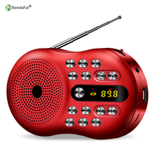 Mini Speaker Radio Stereo MP3 portatile Lettore Music TF USB Radio kit Digital Pocket and Digital Portable Radio Audio Receive