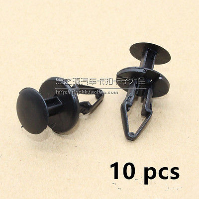 10x for font b Ford b font Focus Mendeo Fiesta Bumper Wheel Arch Clips Lining Splashguards