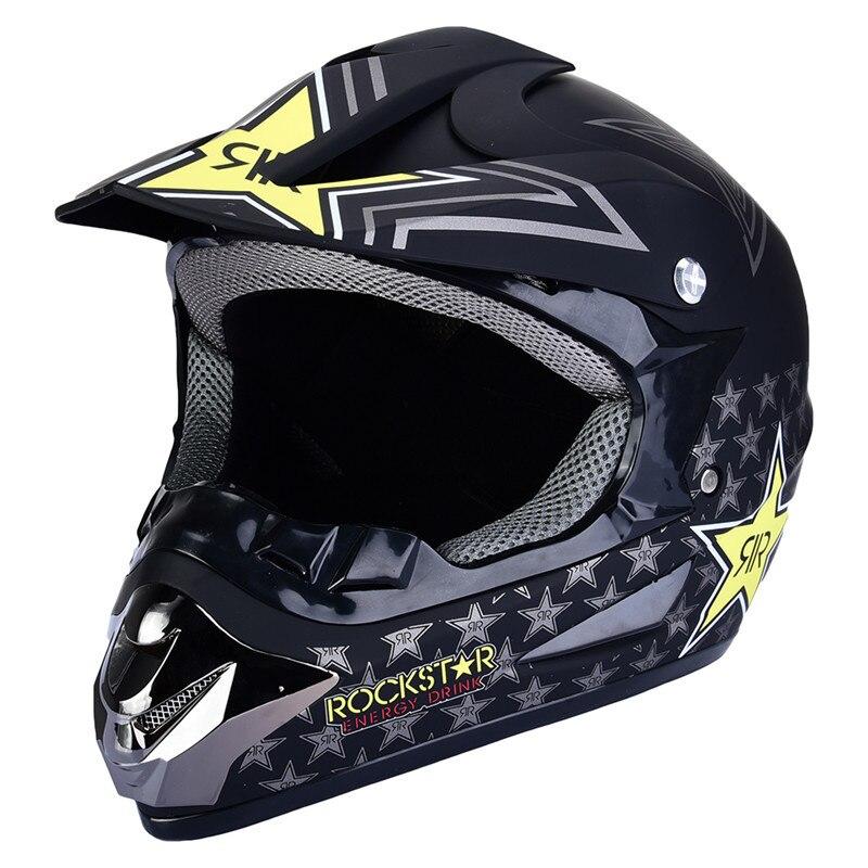 Motocross Full Face Helmet Off Road Professional Rally Racing Helmets Motorcycle Helmet Dirt Bike Capacete Casco Casque стоимость