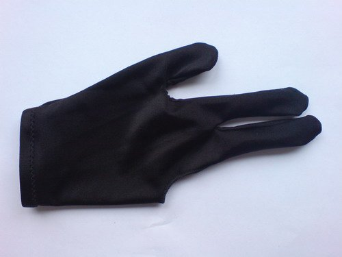Free Shipping 10PCS/LOT black Pool Table Snooker shooters billiard table 3 finger 9-ball Glove