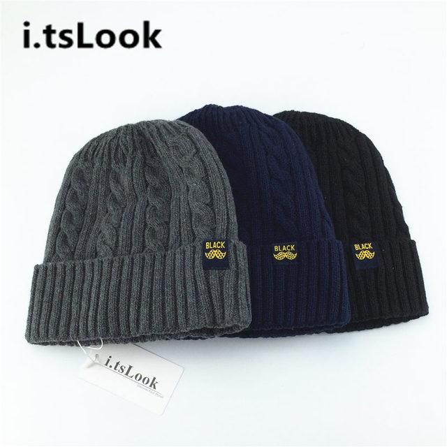 Unisex Winter Warm Cap Knitted Beanie for Men Women Watch Caps Skullies  Beanies Elasticity Crochet Outdoor Teenager Hat BF-400 edad8014e35