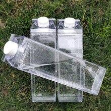 キッチン漏れ防止クリエイティブ透明ミルク水ボトル、スプーン屋外登山ツアーキャンプ子供男性ミルク水ボトル