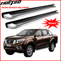 running board side step nerf bar for Nissan NP300 Navara, high quality,can loading 230kg,thicken aluminum alloy,from big factory