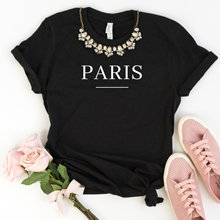 Paris Women tshirt Casual Cotton Hipster Funny t-shirt For Lady Yong Girl Top