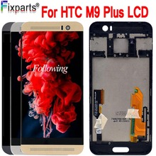 100% Test 5.0 For HTC ONE M9 Plus LCD Touch Screen Display Digitizer Assembly Replacement Parts PLUS M9+ M9pw