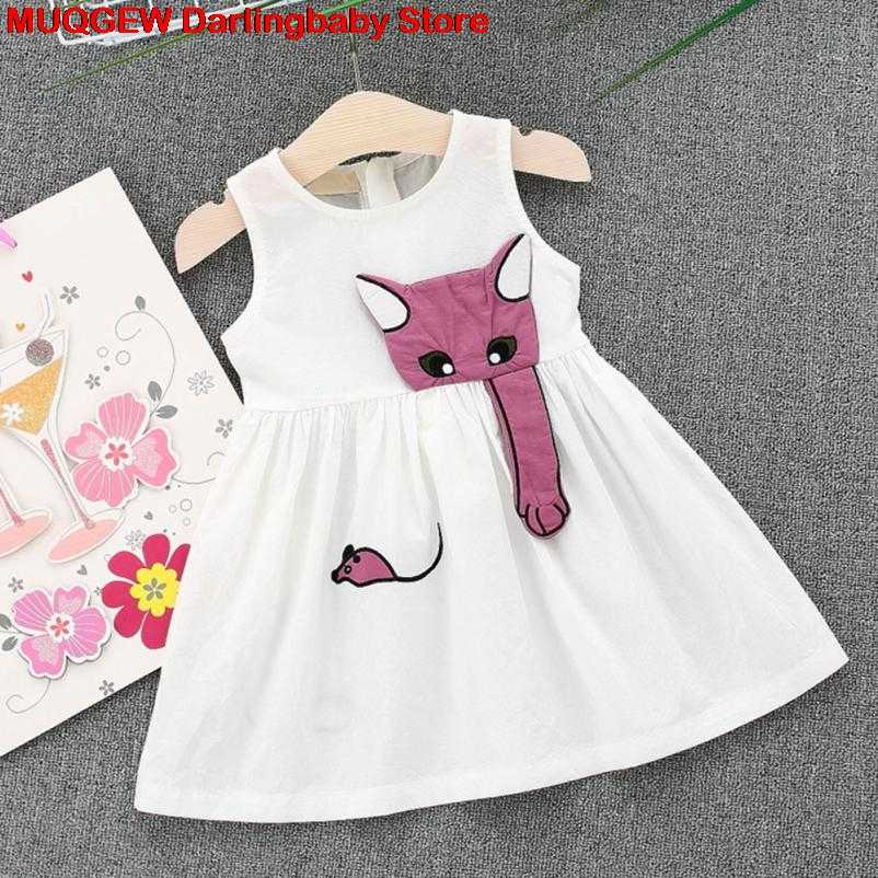 63d457d8136ab New Newborn Cartoon Muse Sleeveless Beach Sundress Clothes Outfits Baby  Dress Fashion Lovely Baby Girl Summer Clothes Streetwear