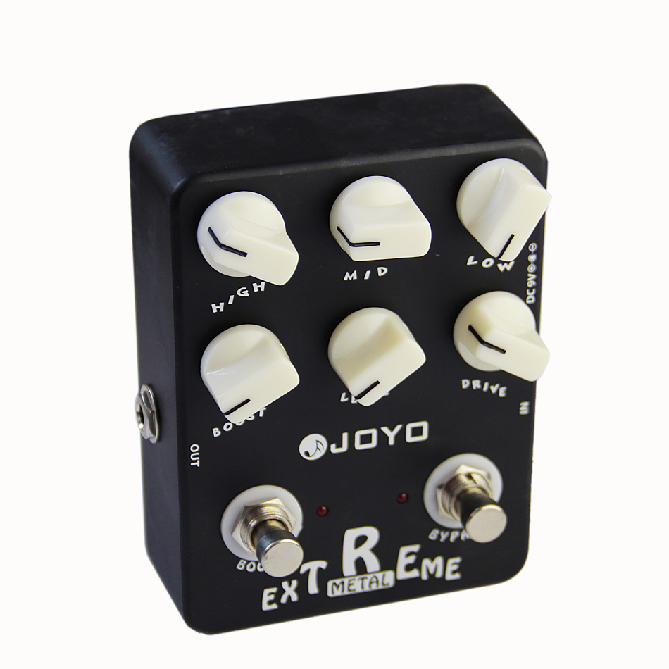 JOYO JF-17 Guitar Effect Pedal Sound Box Extreme Metal (Amplifier Simulator)/Guitar Accessories