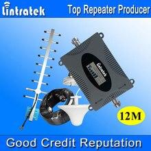 Lintratek 3G Repeater W-CDMA 2100 MHz LCD Display Handy Signal Booster UMTS 2100 MHz Handy Signal 3G Verstärker 2017 #