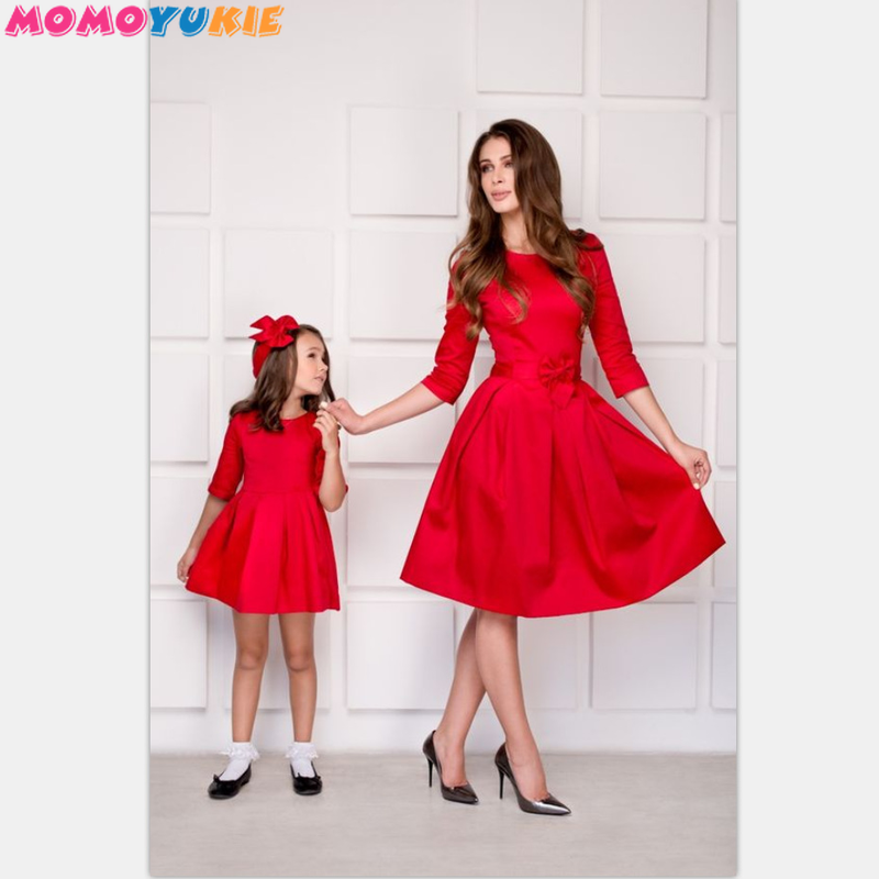 9c745bd841820 Worldwide delivery mom and baby dress in NaBaRa Online