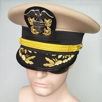 Navy Cap Machine Caps Cap Crew Uniform Vintage Hat Wide Brim Hat Mens Hats Fedoras Mens Hats Gentleman