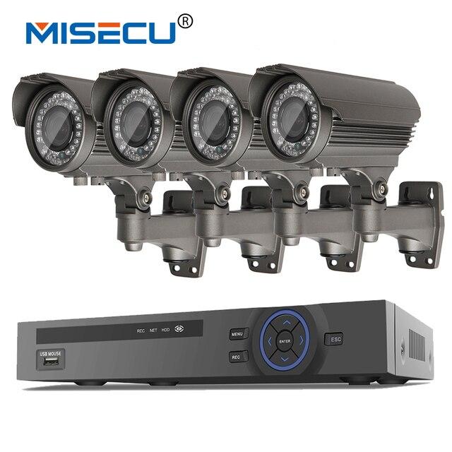 Onvif 1080P 8CH HD NVR KIT real POE SWITCH 48V 2MP 4pc POE module IP 36pcs IR 2.8-12mm Zoom lens Camera Waterproof  P2P cctv kit