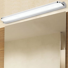 Waterproof and anti fog acrylic LED bathroom lighting 9W 42CM mirror lamp toilet wall