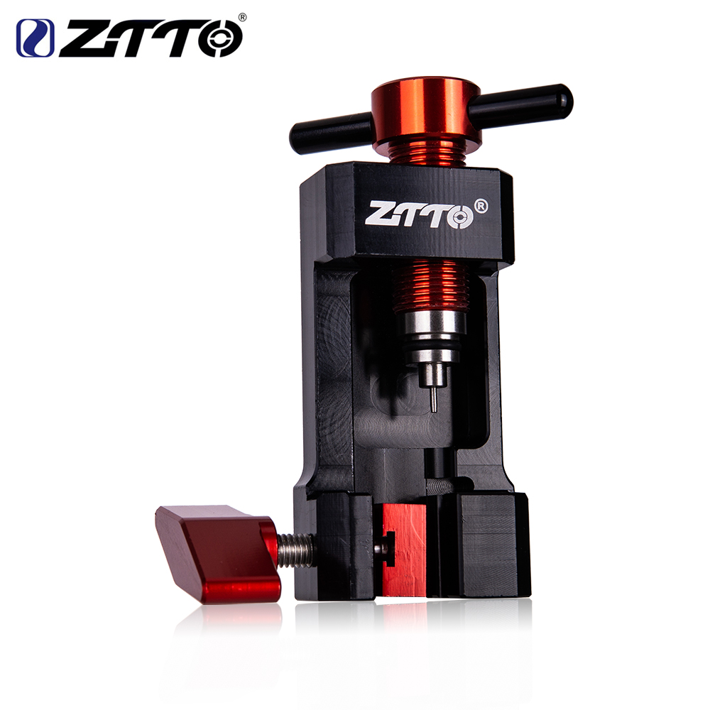 ZTTO Bicycle Hydraulic Disc Brake Oil Needle Tool Driver Hose Cutter Cable Pliers Olive Connector Insert BH59 BH90 Install Press