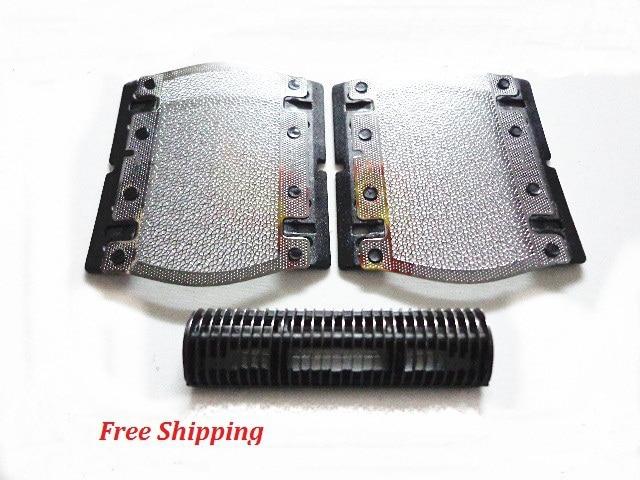 Shaver Razor Cutter+Foil Screen For BRAUN 5s CruZer Twist PocketGo MobileShave BS550 570 575 5604 P40 P50 P60 P70 P90 M60S 5609