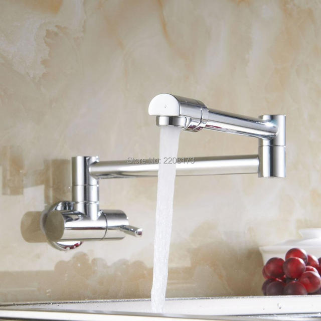 Contemporary Simple Type Wall Mounted Chrome Or Brushed Brass