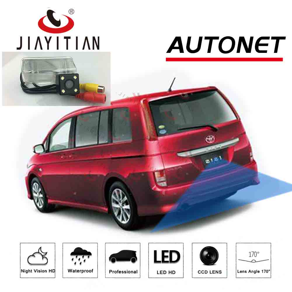 JiaYiTian Rear View Camera For Toyota Isis Platana VAN 2006~2011 CCD Night Vision Backup Reverse Camera License Plate Camera