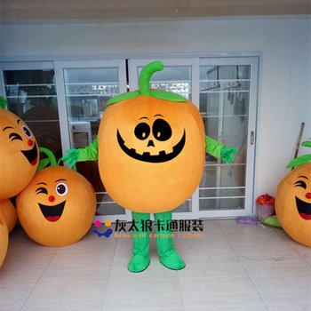 Pumpkin Mascot Costume Suits Cosplay Party Game Dress Adults Fancy Dress Christmas Cosplay Halloween Party