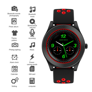 Image 4 - TF8 Smart Watch Fitness Tracker Bluetooth Sport Smartwatch Fashion Round Touch Screen Smartwatch Support Sim Memory Card