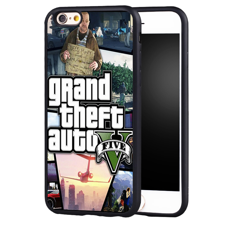 GTA grand theft auto 5 V phone case cover for iphone 7 7plus 6 6splus 5 5s 5c SE