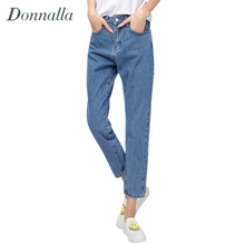 Donnalla 2017 Women Denim Pants Winter New Fashion Women High Waist Jean Denim Pencil Pants Bottoming Pants Women Jeans