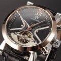 Clássico relógios Tourbillon Mens Relógio Automático Top Marca de Luxo Relógio Dourado Caso Calendário Relógio Masculino Relógio Mecânico Preto