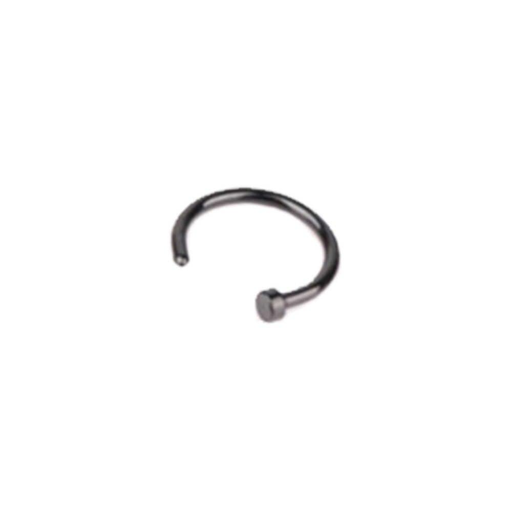 1 Pcs U Vormige Nep Nose Ring Hoop Septum Ringen Roestvrij Staal Neus Piercing Nep Piercing Oreja Pircing Sieraden