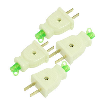 4 Pcs AC 250V 16Amp 2 Pin US Electrical Power Plug Connector Head Zkmhz 5pcs ac 250v 16a 2 pin us au power plug connector replacement