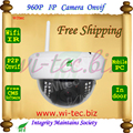 WIFI 960P IR Dome Vandal proof Plastice Indoor CCTV Cam 1.3MP Onvif IP Camera FTP Email Alarm Motion detect P2P Mobile view