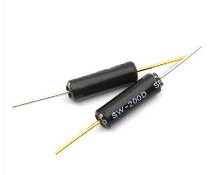 10 шт./лот SW-200D переключатель вибрации шариковый выключатель, срабатывающий при наклоне двойные бусины датчик угла в наличии