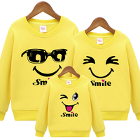 Plus Size Family Matching Outfits New 2018 Casual Autumn Mother Daughter Father Son Boy Girl Cotton Clothes Set Family Clothing