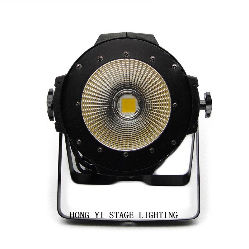 2017 Professional Stage Lighting/100W COB LED Par Can DMX 100w COB LED Par /LED dmx Stage Light /dj disco lighting litewinsune cw ww 100w cob led par can lighting 3200k 5600k wash stage lighting 6pcs