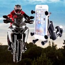 Металлический держатель для телефона на велосипед, подставка для мобильного телефона, подставка для iPhone 8 7 6s Plus, для Xiaomi, gps, moto rcycle, держатель для телефона, soporte movil moto