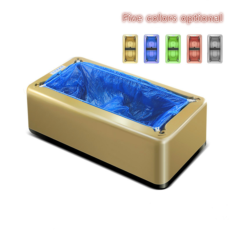 Shoe Cover Machine Shoe Film Machine Foot Machine Fully Automatic Small Disposable Foot Cover Give 600 Plastic Shoe Covers