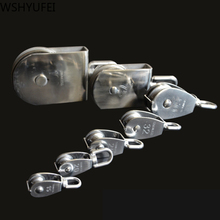 M15/20/25/32/50/75/100 metal pulley stainless steel fixed pulley crown seat and pulley lifting wheel mini single wheel
