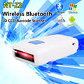 New Arrival! NT-Z3 Portable Pocket Mini Wireless Bluetooth CCD Screen Barcode Scanner High Speed Scanning For IOS Android