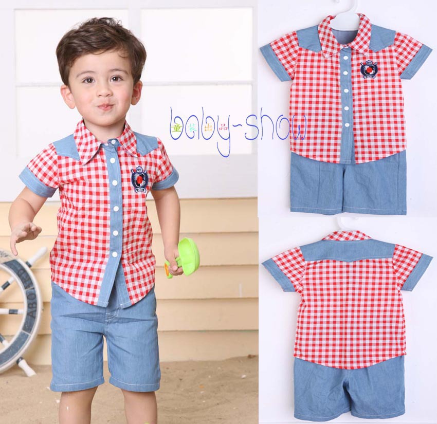 Wholesale Boys Summer Clothes