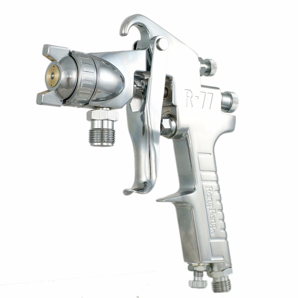 Free Shipping 2.0/2.5mm Nozzle Professional Pressure Spray Gun Paint Sprayer Airbrush Professional Painting Tool crystal lux бра crystal lux alegria ap2 silver brown