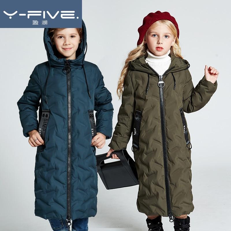 3f8014085 High Quality Girls boys Winter Duck Down Coat Jacket Parka Long ...