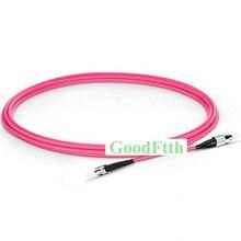 Cordon de raccordement de fibres FC ST ST FC OM4 Simplex GoodFtth 1 15m 6 pièces/lot