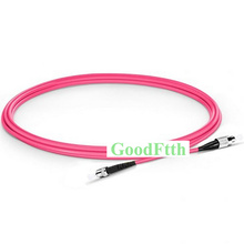 Fiber Patch Cord Cable FC-ST ST-FC Multimode OM4 Simplex GoodFtth 1-15m