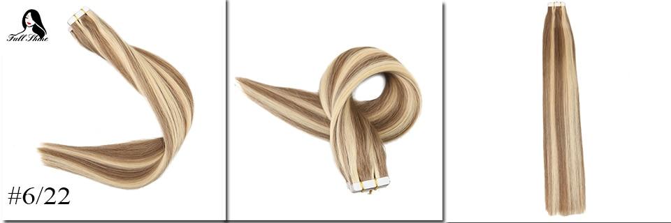 Band-haarverlängerungen 100% QualitäT Moresoo Remy Highlight Zwei-ton Farbige Band In Haar Extensions Haut Schuss Kleber Auf Haar Extensions 20 Stücke/ 50g