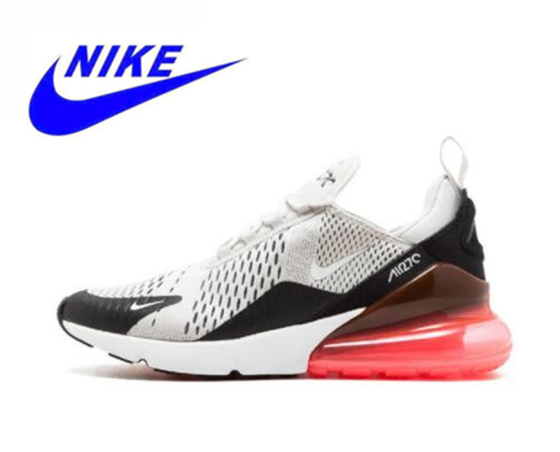 Nike Air Max 270 180 Running Shoes White Sport Outdoor Sneakers Comfortable  Breathable Cushioning for Men AH8050-003 eb9c8fe12