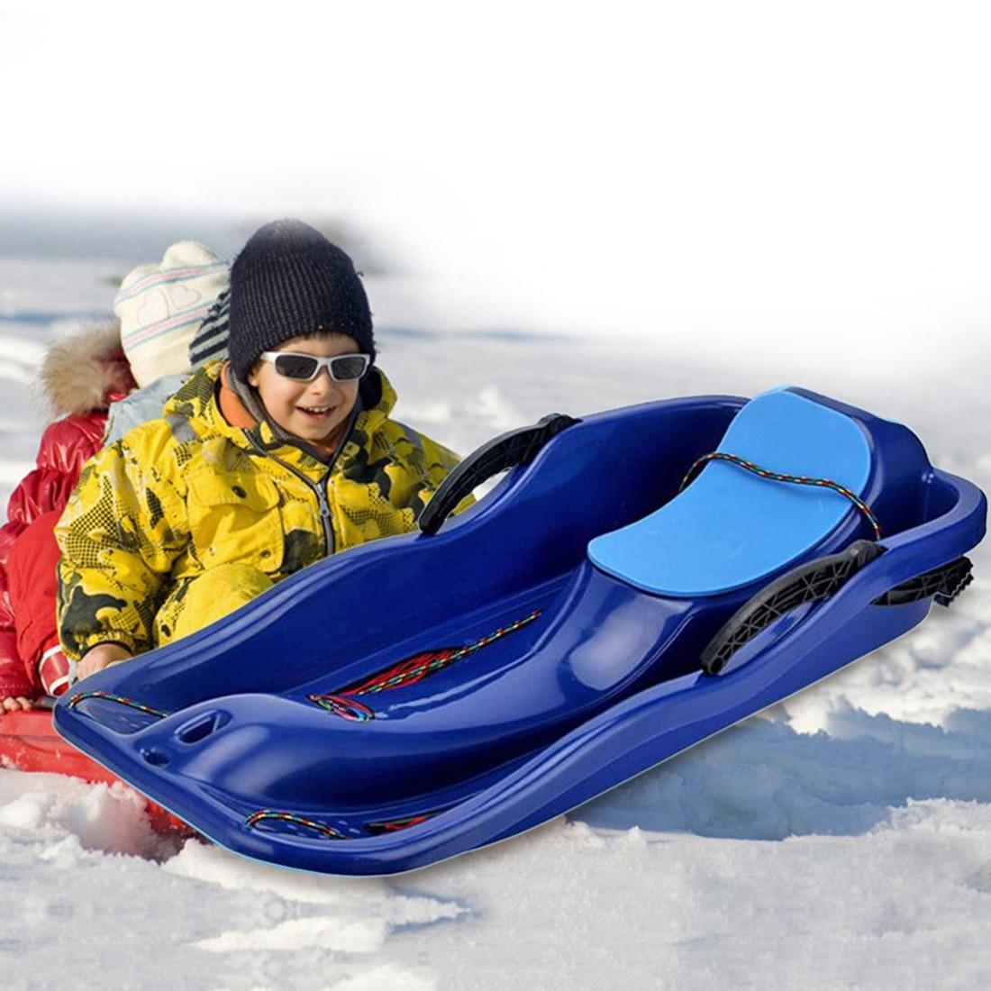 Adulte Enfants Neige Traîneau de Neige En Plein Air Planche de Glisse Luge Luge Épaissir Herbe Conseil De Sable Tapis de Ski Snowboard Conseil Traîneaux