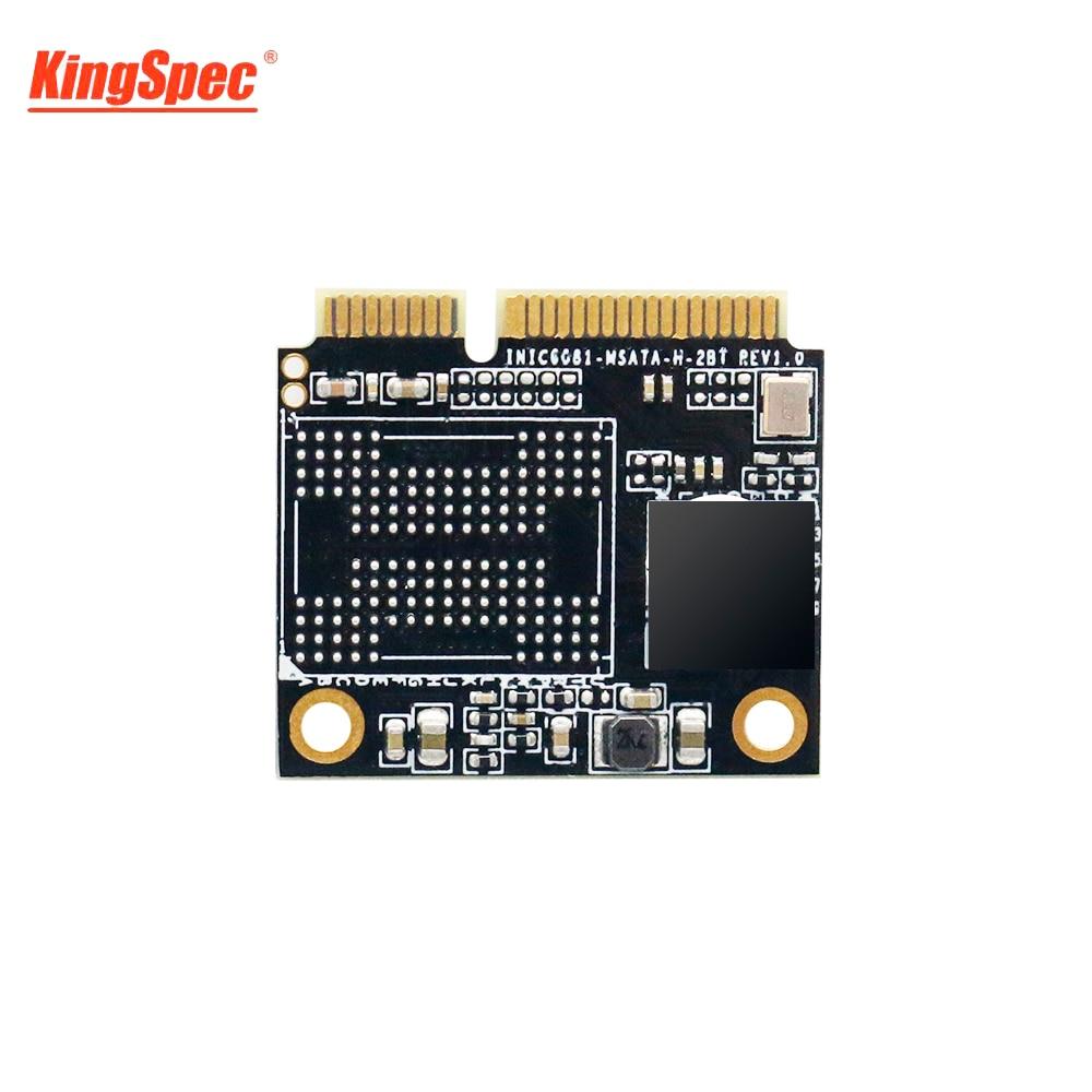 KingSpec Half Size mSATA SSD 128GB Internal SSD 120GB Module Solid Hard Disk Drive HD HDD For DELL VOSTRO 5460 Notebook Desktops