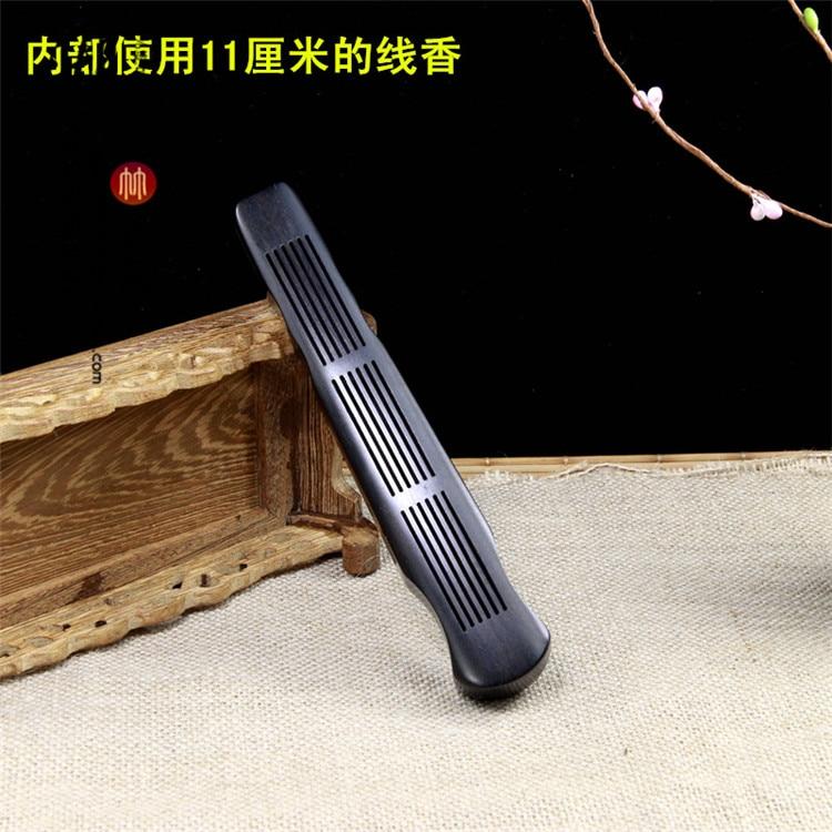 Ebony guqin censer FuYi type lie present line censer guqin present Chen xiang ta teachers furnace wholesale