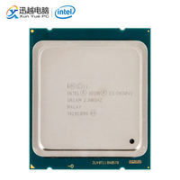 Intel Xeon E5 2630 v2 Desktop Processor 2630 v2 Six Cores 2.6GHz 15MB L3 Cache LGA 2011 Server Used CPU CPUs     -